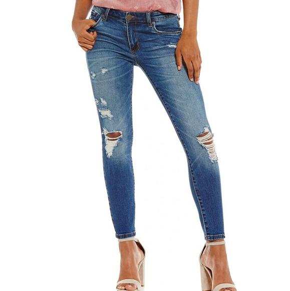 STS Blue Denim - Sts blue skinny ankle jeans